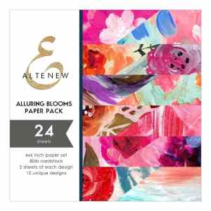 Altenew – Alluring Blooms 6×6 Paper Pack