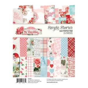 Simple Stories – My Valentine 6×8 Paper Pad