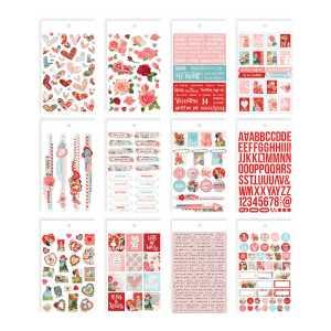 Simple Stories – My Valentine Mini Sticker Tablet