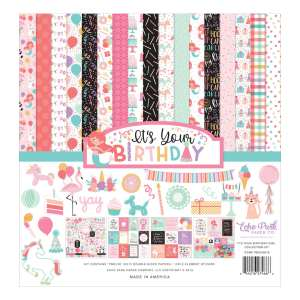 Echo Park – It's Your Birthday Girl Collection Kit 12×12