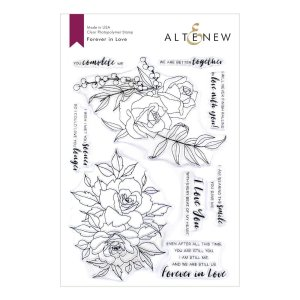 Altenew – Forever In Love Stamp Set
