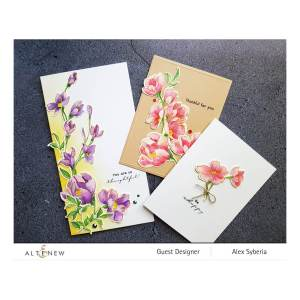 Altenew – Pen Sketched Flowers Stamp Set