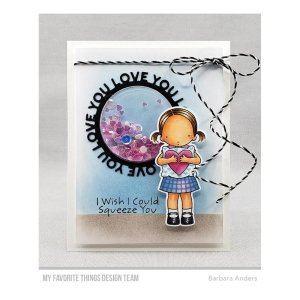 Fustella My Favorite Things – Love You Circle Frame