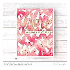 Fustella My Favorite Things – Lots of Hearts Cover-Up