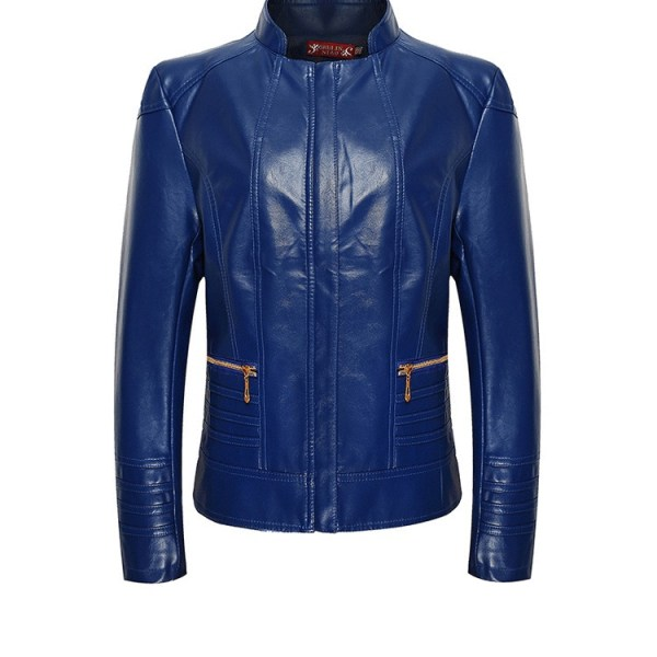 ladies fashion leather jacket