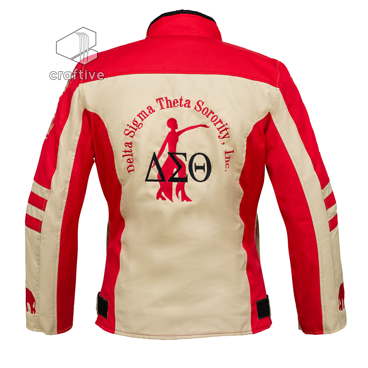 Delta Sigma Theta Crossing Jackets - Craftive Apparels