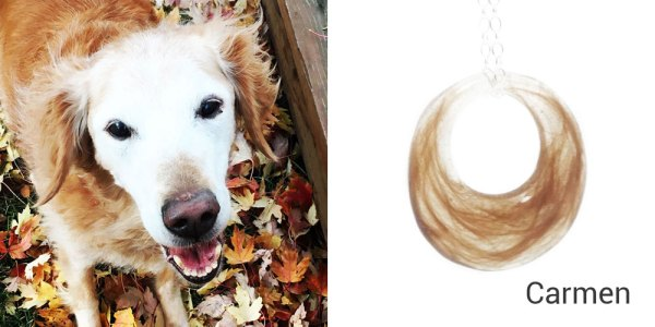 dog loss necklace
