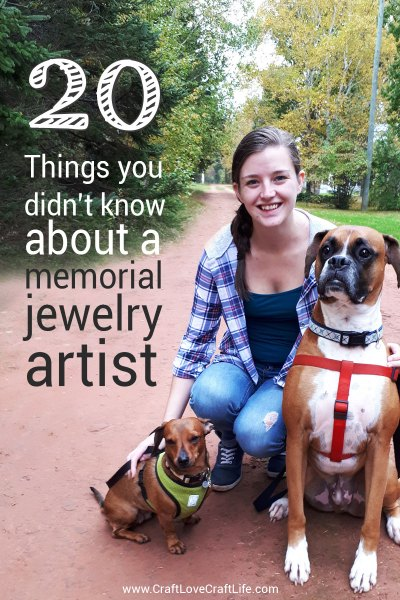 20 things you didn't know about a memorial jewelry artist