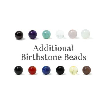 Additional Birthstone Beads
