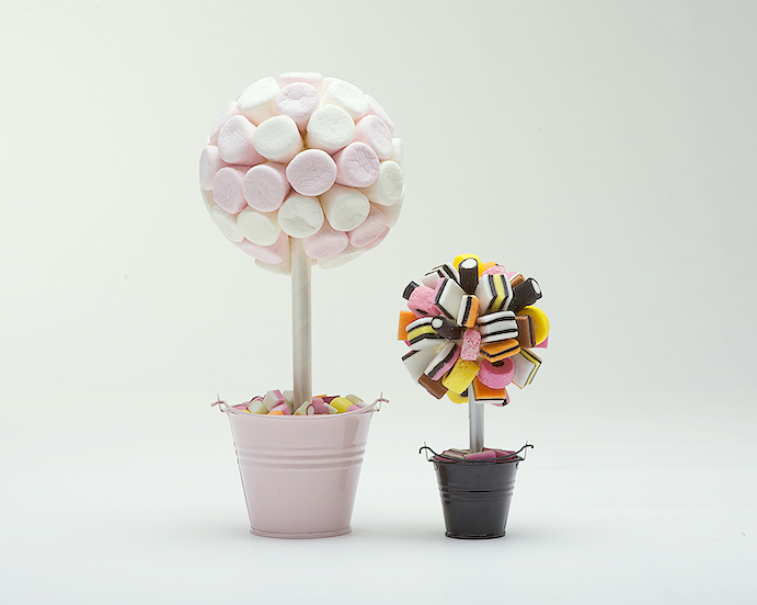 How To Make A Sweet Tree Instructions Sweet Candy Trees