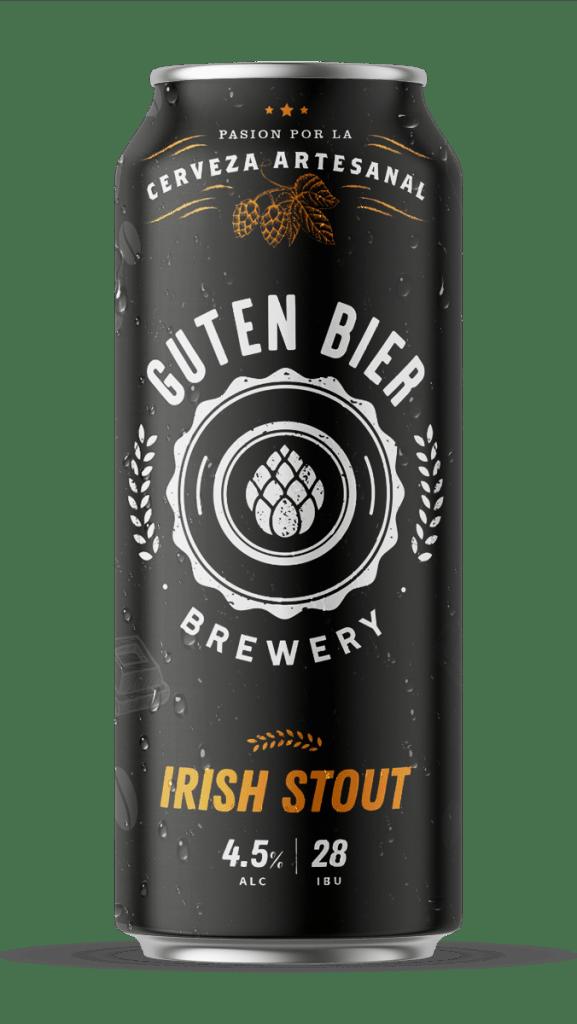 Guten Bier Irish Stout 473cc x12