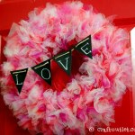 Valentine S Day Tulle Wreath Craft Outlet Inspiration