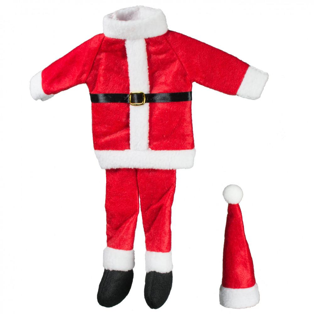Santa Suit Wine Bottle Cover 17064