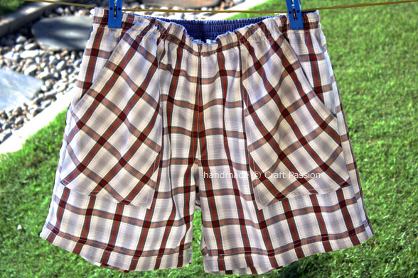 sew pattern boxer shorts