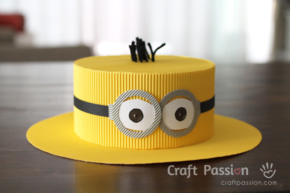Minions Hat Diy Pattern Tutorial Craft Passion