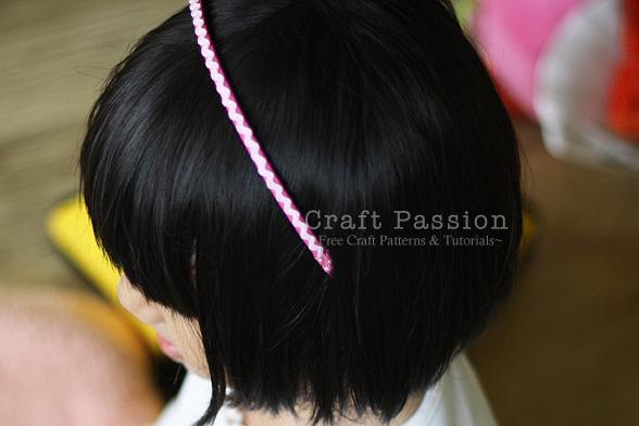 ric rac headband