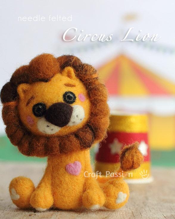 make felt lion