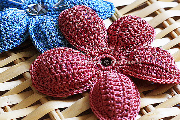 5 Petal Flower Free Crochet Pattern Craft Passion