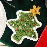 Christmas Tree & Star Crochet Pattern