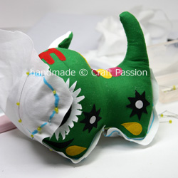 replicate stuffed animal