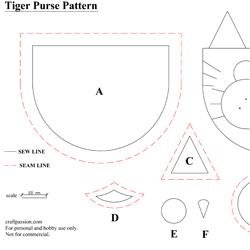coin purse pattern