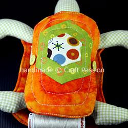 Turtle Pincushion WIP