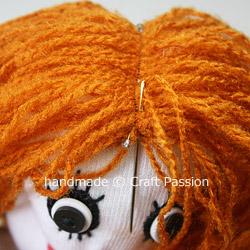 Sew Doll Hair