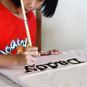 kid craft stencil