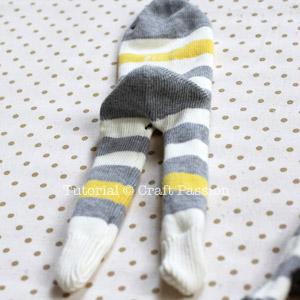 sew sock monkey