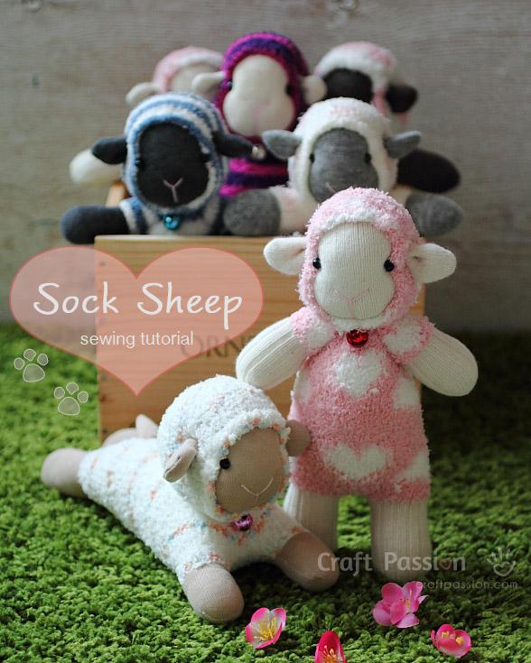 sock sheep pattern