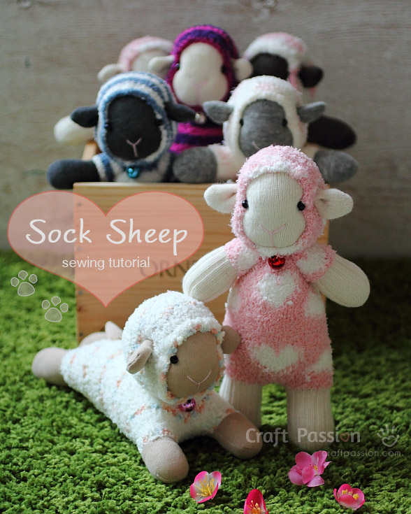 sock sheep pattern