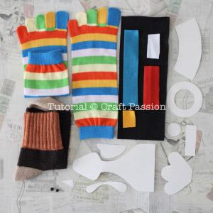 sock turkey material