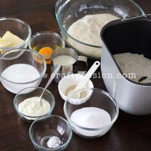 hokkaido bread with cheese topping recipe