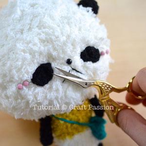 panda amigurumi pattern