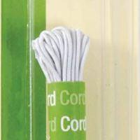 Dritz 9340W Beading Cord Elastic, White, 1/16-Inch by 5-Yard