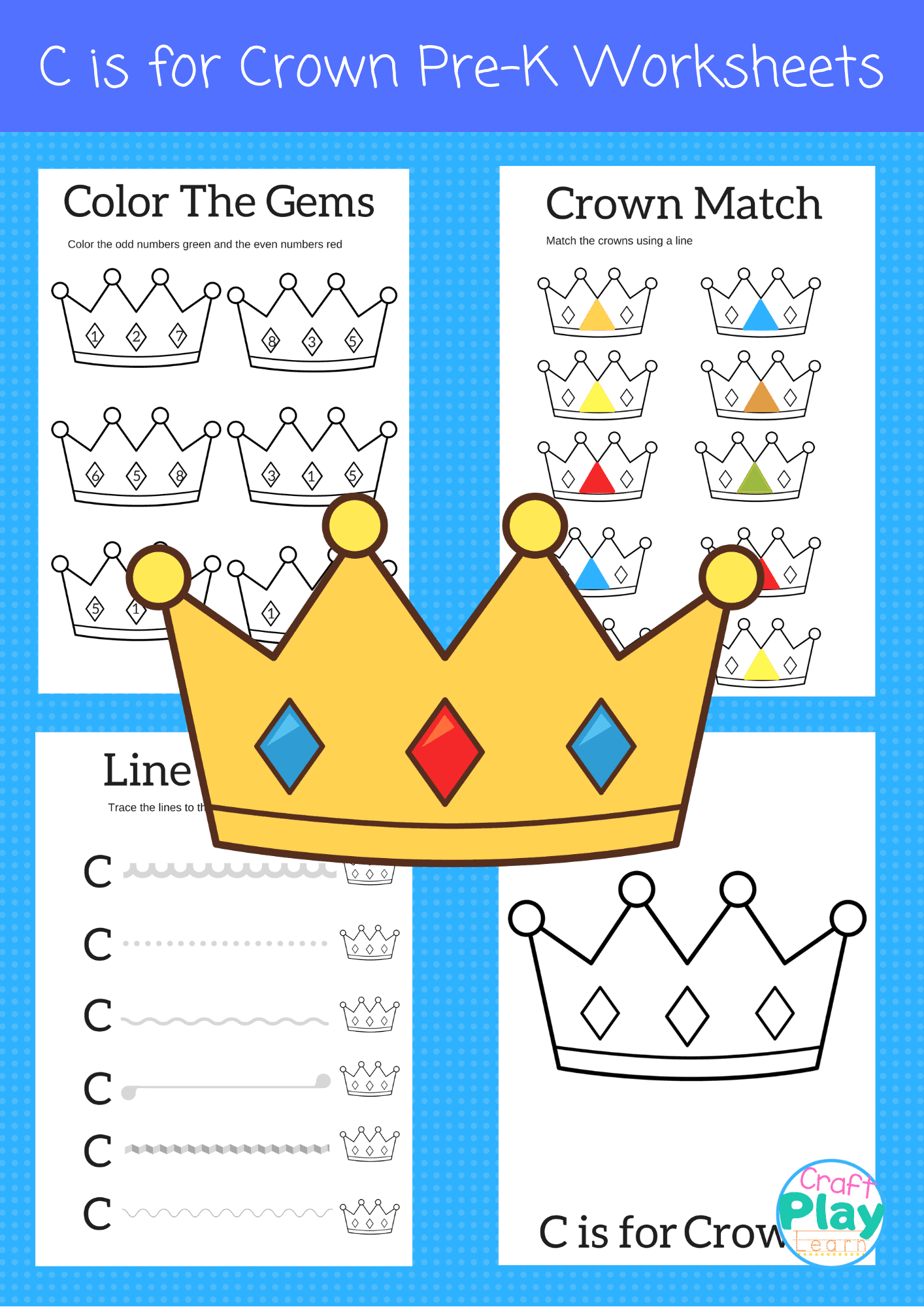 Letter C Worksheets For Kids