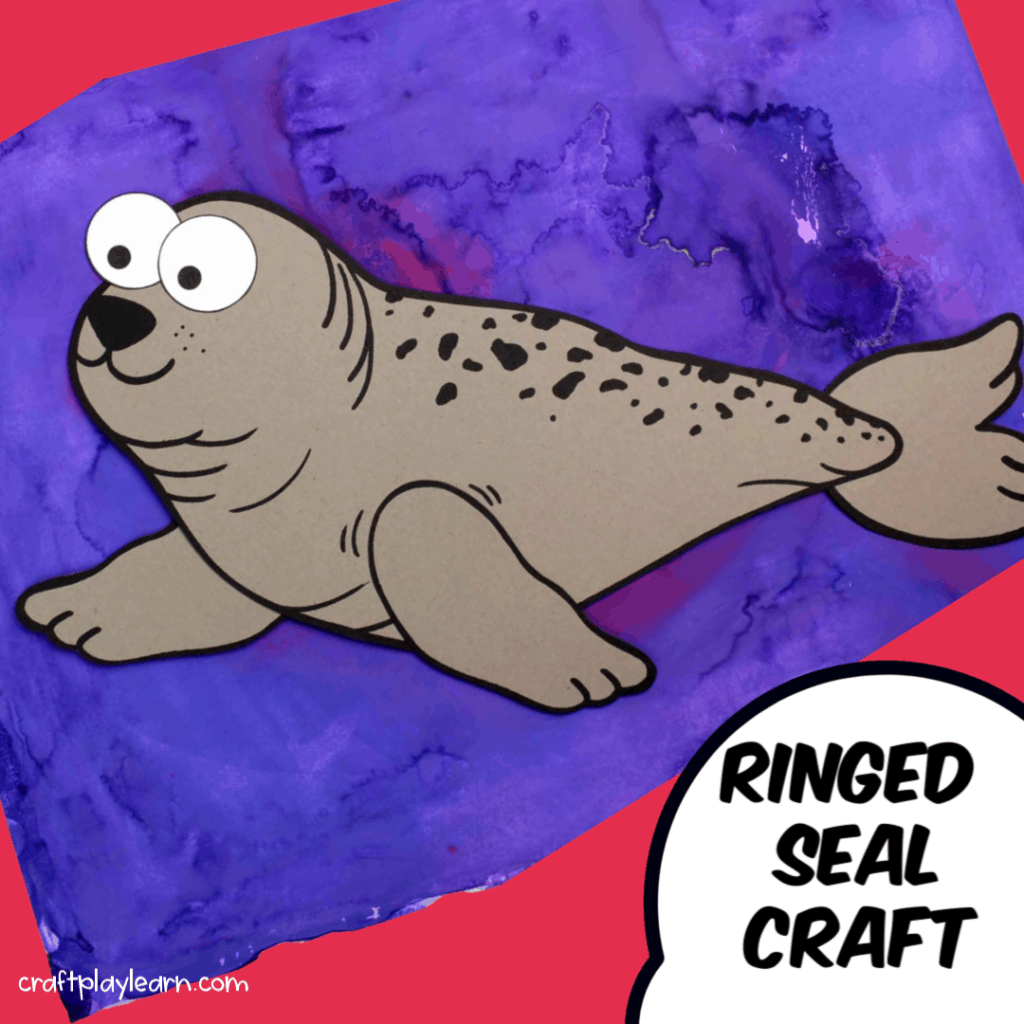 Arctic Animal Crafts For Preschoolers Ringed Seal