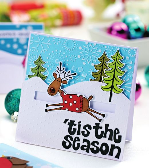 Fun And Funky Christmas Cards Free Card Making Downloads