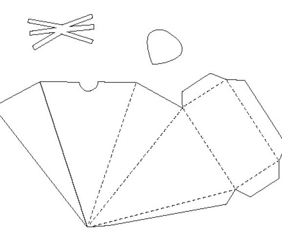 Mouse Papercraft Box Template Free Card Making Downloads