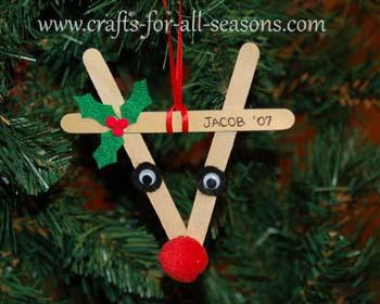 christmas ornaments popsicle sticks # 59