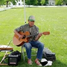 Allen Church - singer, songwriter, musician - Craftsbury Farmers Market