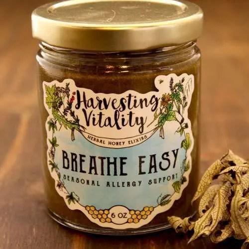 Harvesting Vitality Breathe Easy: Seasonal Allergy Support