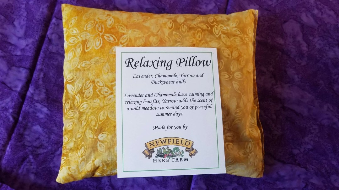 Newfield Herb Farm - Albany, VT - Herb Relaxing Pillow