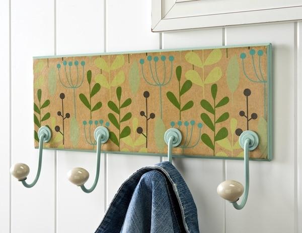 Summer Spotlight - Amy from Mod Podge Rocks! - Floral DIY Coat Rack
