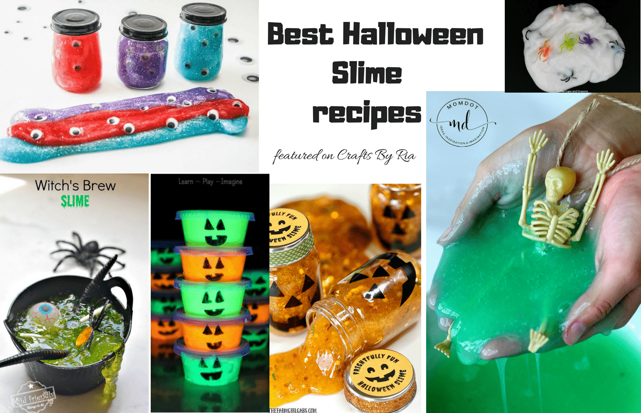 6 Best Halloween Slime recipe ideas for Kids