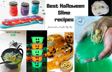 best halloween slime recipe ideas-featured