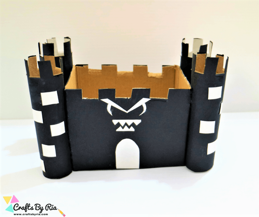 haunted house craft for kids-fb