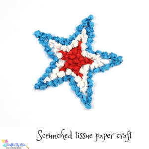 4th of july tissue paper craft-thumbnail