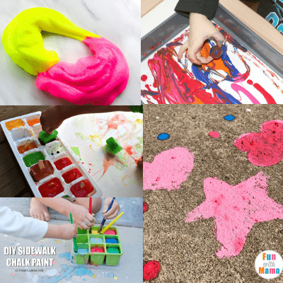 boredom buster-easy summer crafts for kids