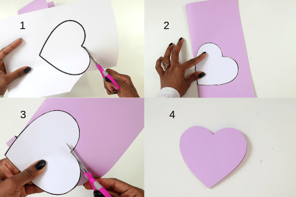 i love you to pieces craft-step2